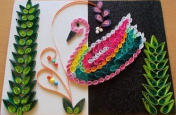 DIY Wall Decor Using Quilling Art