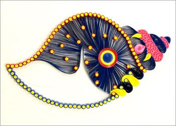 Diy-quilling-wall-decor-idea