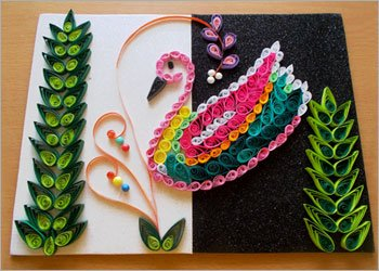 Duck-quilling-wall-art-&-craft