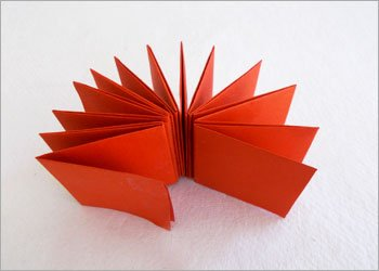 Origami book craft idea