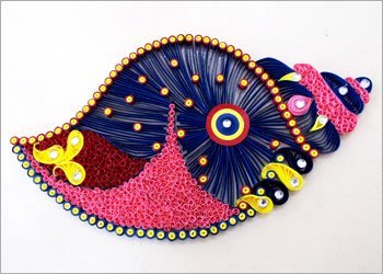 Quilling Craft For Home Decoration