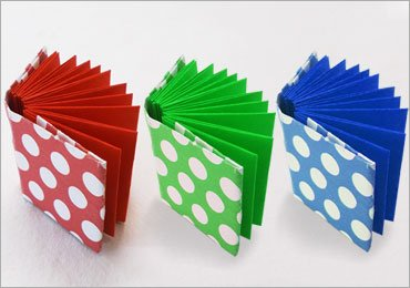 DIY Craft Ideas for Kids : How to Make an Easy Origami Mini Notebook!