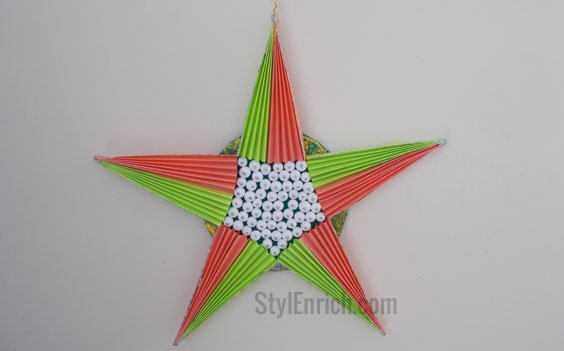Awesome Christmas Decoration Ideas for Making Paper Star!