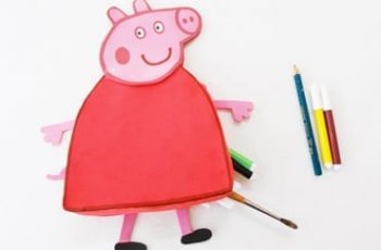 DIY Peppa Pig Pencil Pouch