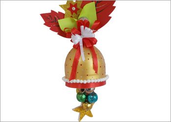 Christmas bell easy diy craft