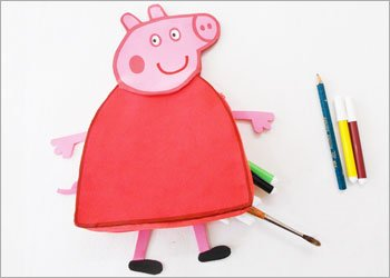 Cute diy peppa pig