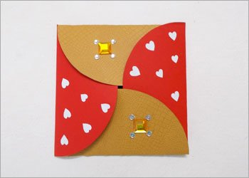Diy envelope handmade gift idea