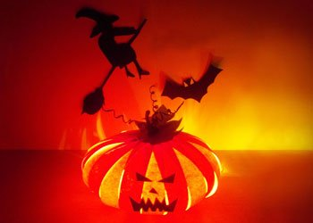 Handmade-paper-craft-for-halloween