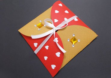 Diy-envelope-from-circle