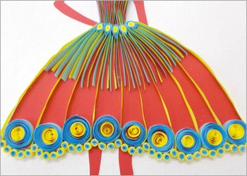 Colorful-quilling-princess-wall-frame