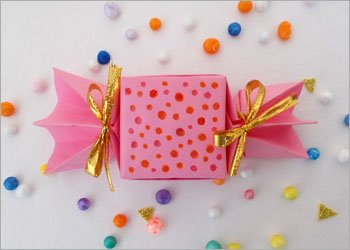 Diy candy box paper craft for kids