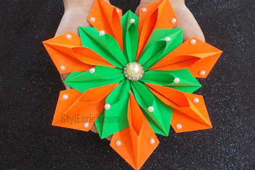 Easy DIY Origami Flower