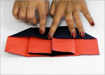 Diy origami piano paper craft