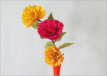 Easy paper flower diy craft