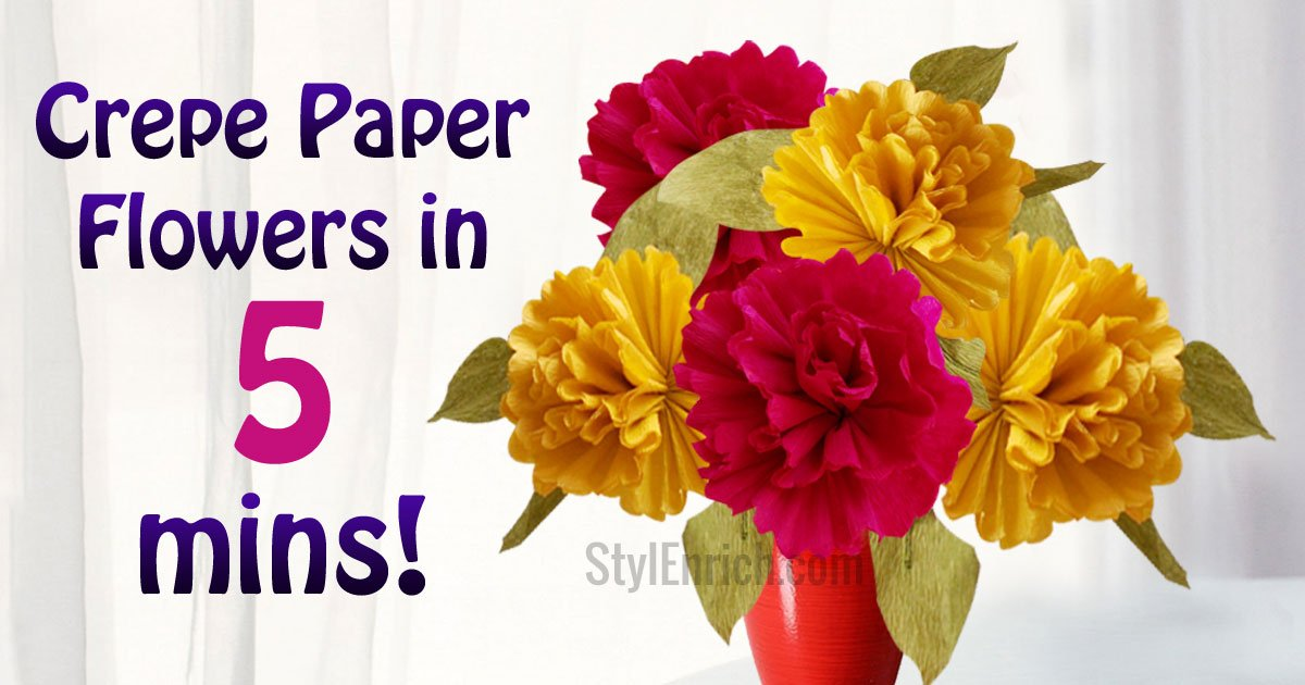 How do i make large crepe paper flowers diy crepe paper peony diy easy paper flowers home decor project mightylinksfo
