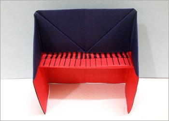 Origami-paper-piano-craft