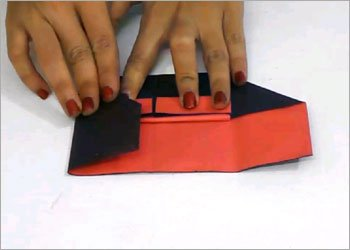 Origami piano easy paper craft