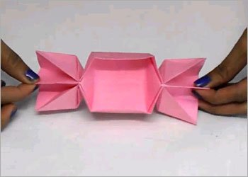Paper candy box for kids