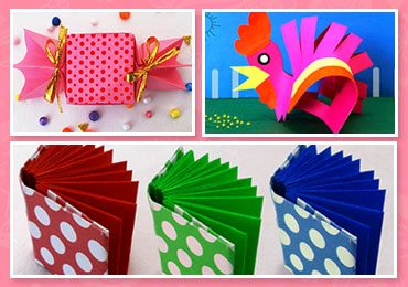 DIY Kid's Crafts : 5 Easy & Fun Kid's Paper Craft Ideas!