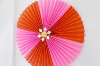 Christmas Craft Ideas - DIY Paper Rosette
