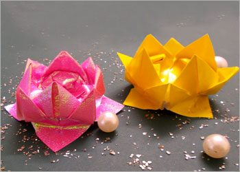 Diy-origami-lotus-creative-crafts