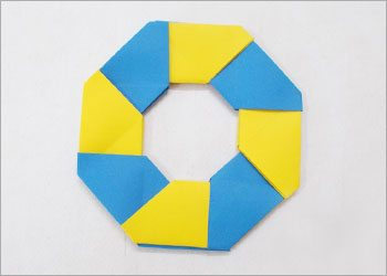 Easy origami paper craft