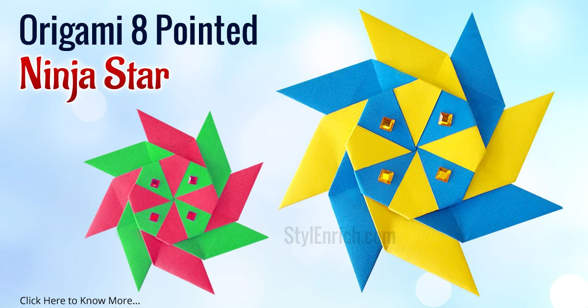 How To Make A Origami Transforming Star