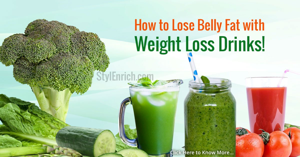 Reduce Belly Fat Fast With Weight Loss Drinks!
