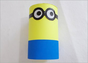 Funny minion piggy bank