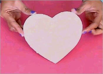 Heart shaped diy box