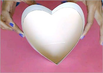 Heart shaped diy crafts