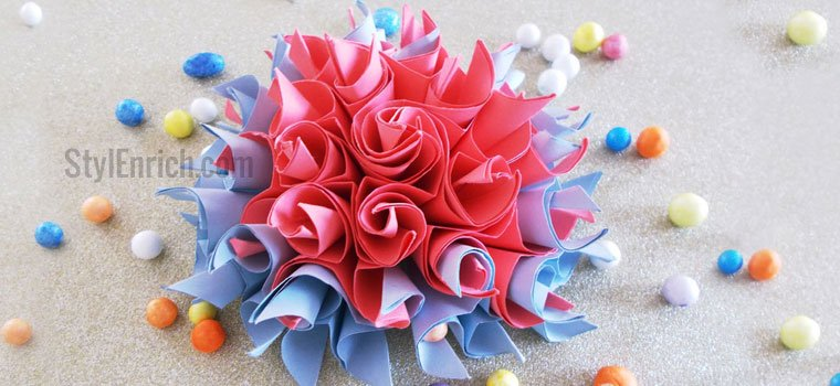 Easy origami flower cool diy crafts for home decorations easy origami flower mightylinksfo Gallery