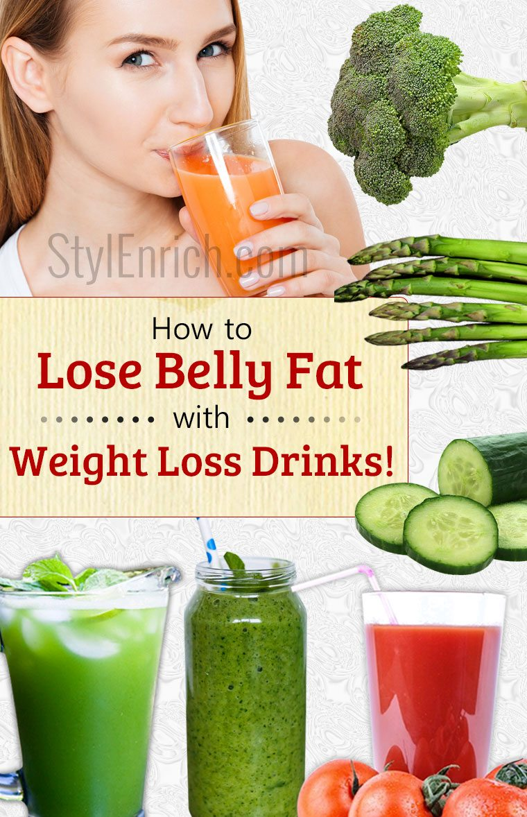 reduce belly fat fast with healthy weight loss drinks