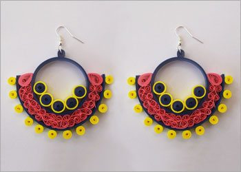 Quilling Earrings DIY Crafts For Beginners!