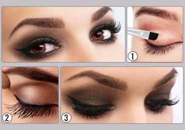 How To Do Smokey Eye Makeup For Brown Eyes!