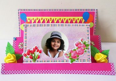 Birthday Card Ideas : How To Make DIY Pop Up Birthday Greeting Card!