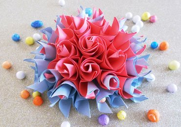 DIY Easy Crafts : How to Make an Easy Origami Flower!
