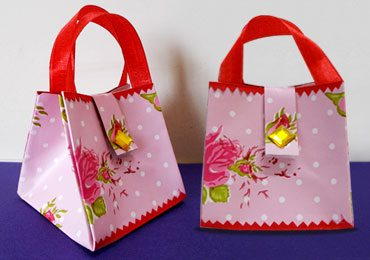 Handmade Mini Paper Bag