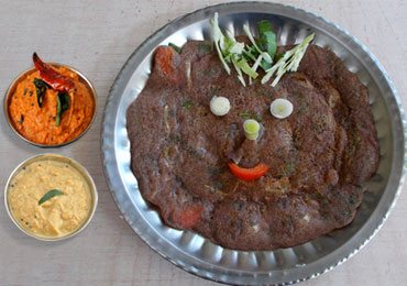 Healthy Breakfast Idea : How to Make Instant Ragi Dosa in a Flick!