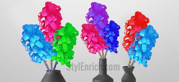 Easy Paper Crafts : How to Make Cool Hyacinth Paper Flower!