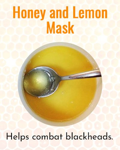 Honey and Lemon Face Mask