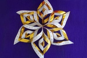 Snowflakes - Christmas Paper Crafts