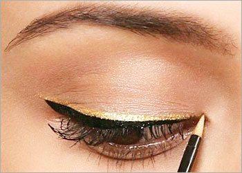 Dual-toned-eyeliner