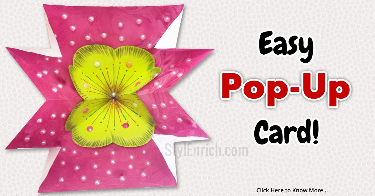 card making ideas how to make amazing pop up greeting card