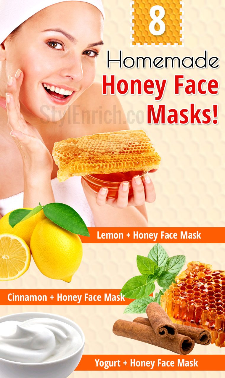 Homemade honey face masks