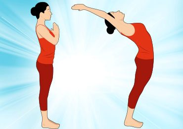 Surya namaskar yoga for weight loss