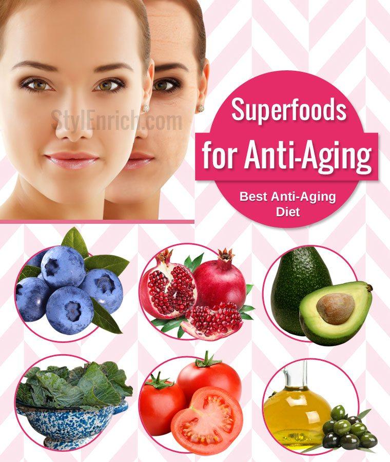 10 best Anti Aging Foods