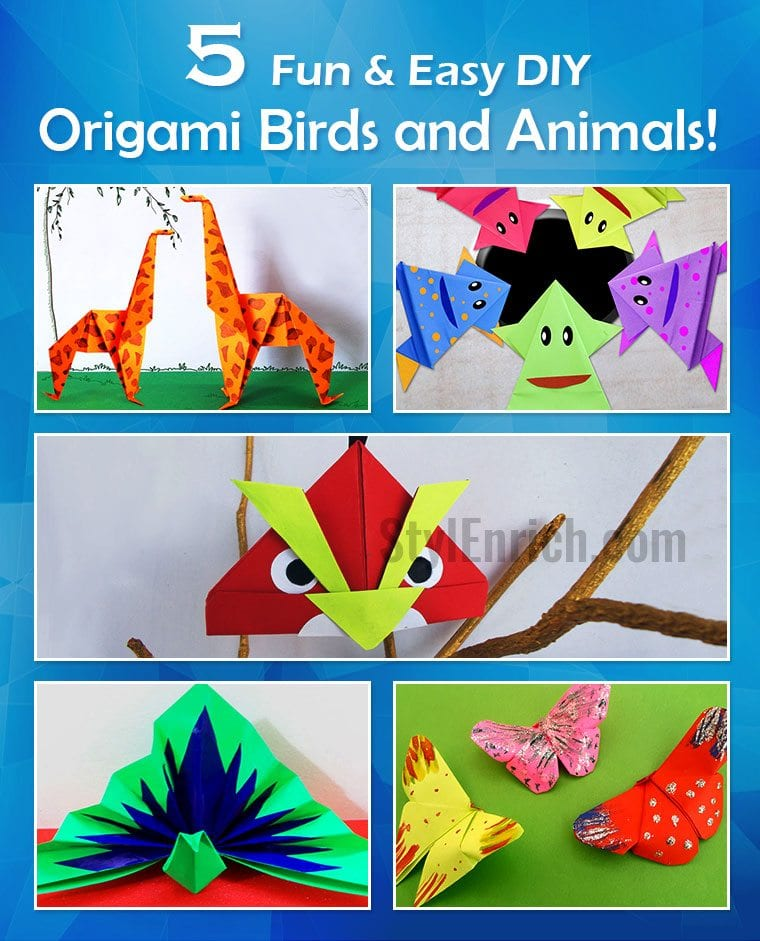 How To Make A Origami Leaping Frog