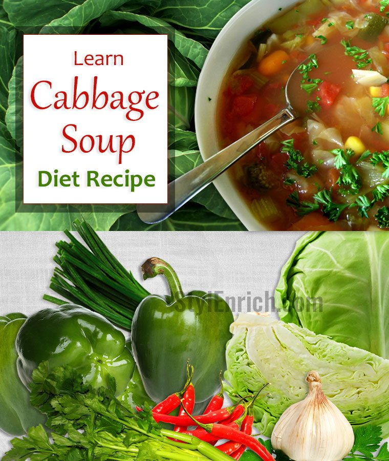 Recipes For Diet Cabbage Soup: Cabbage Soup Diet Recipe That You Must Include In Your Food