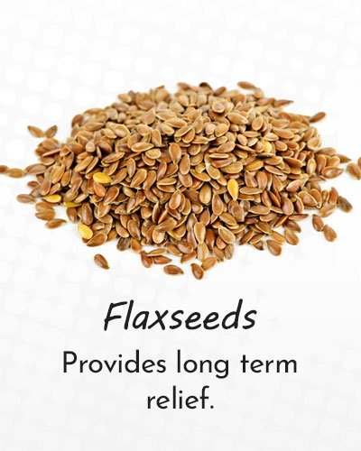Flaxseeds Along With Honey and Lemon